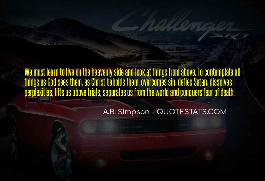 A.B. Simpson Quotes #695045