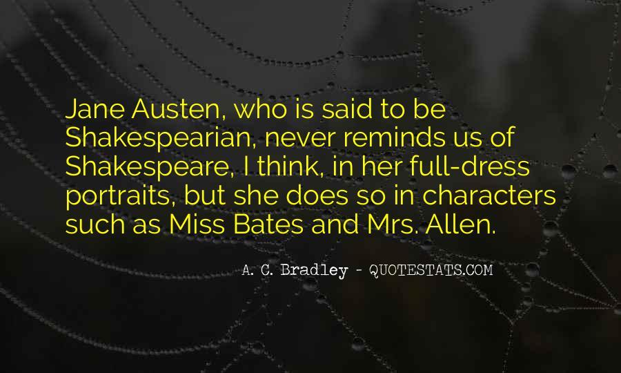 A. C. Bradley Quotes #1512614