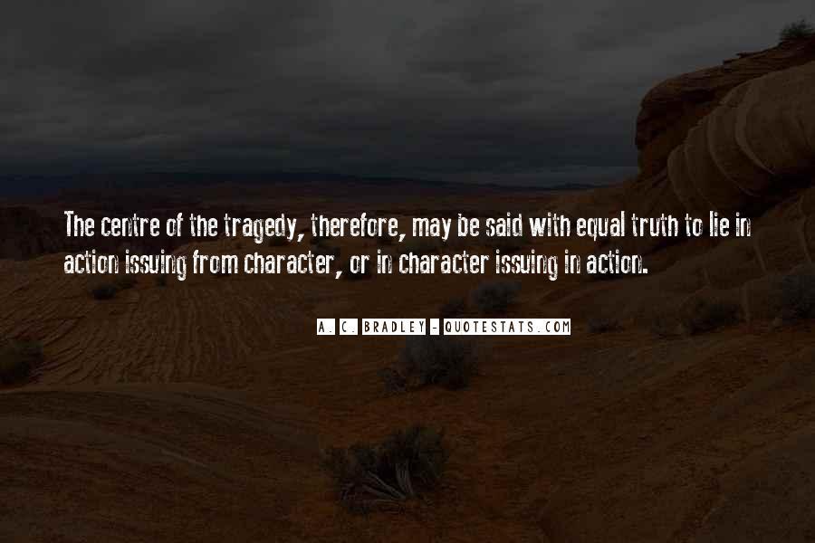 A. C. Bradley Quotes #1800883