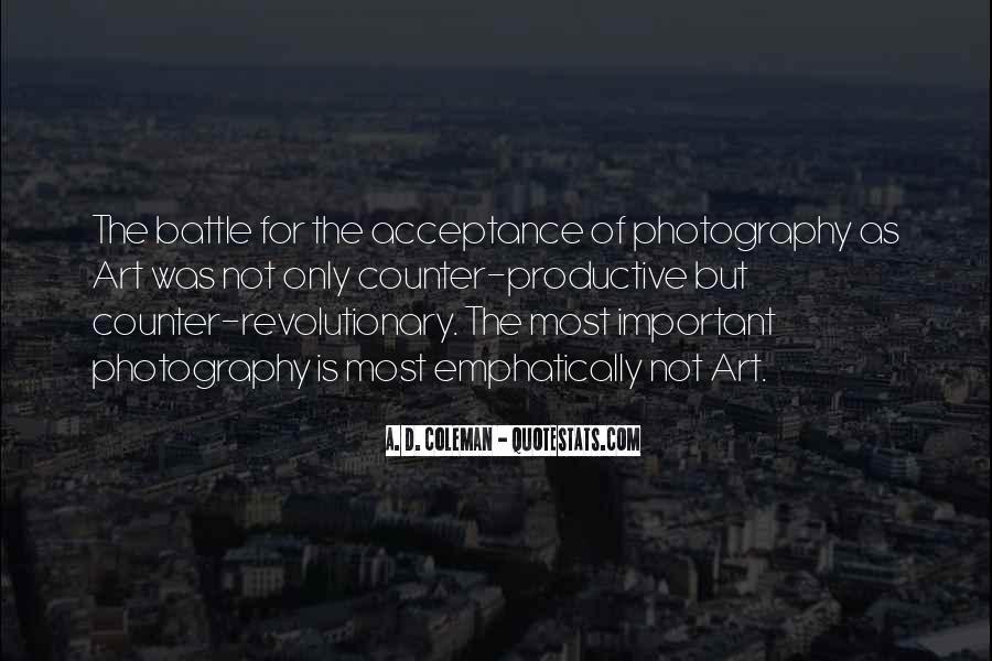 A. D. Coleman Quotes #1237899