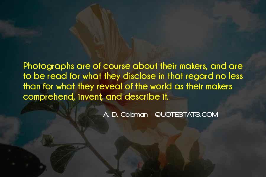 A. D. Coleman Quotes #1257780