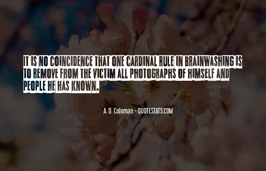 A. D. Coleman Quotes #581561