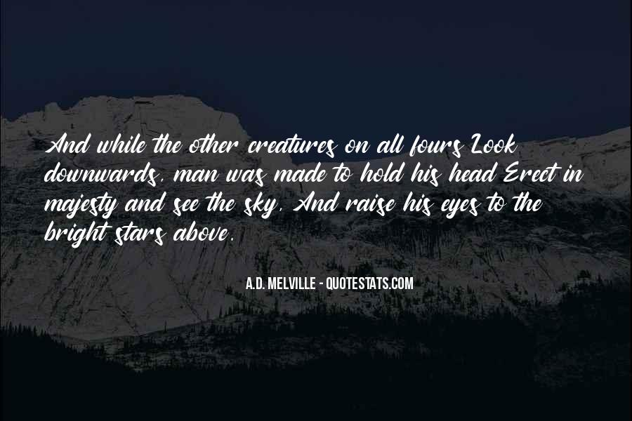 A.D. Melville Quotes #1427544