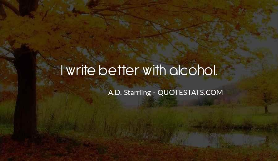 A.D. Starrling Quotes #622851