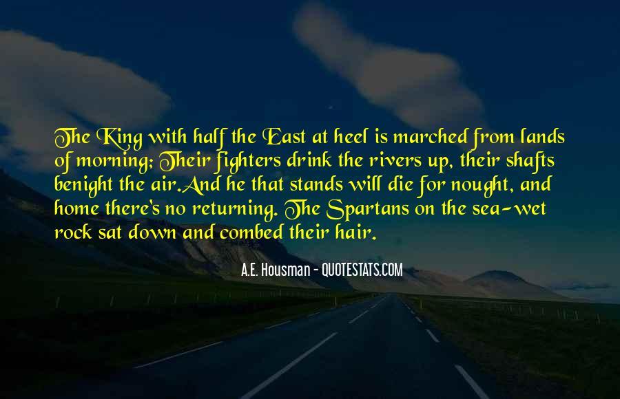 A.E. Housman Quotes #1085046