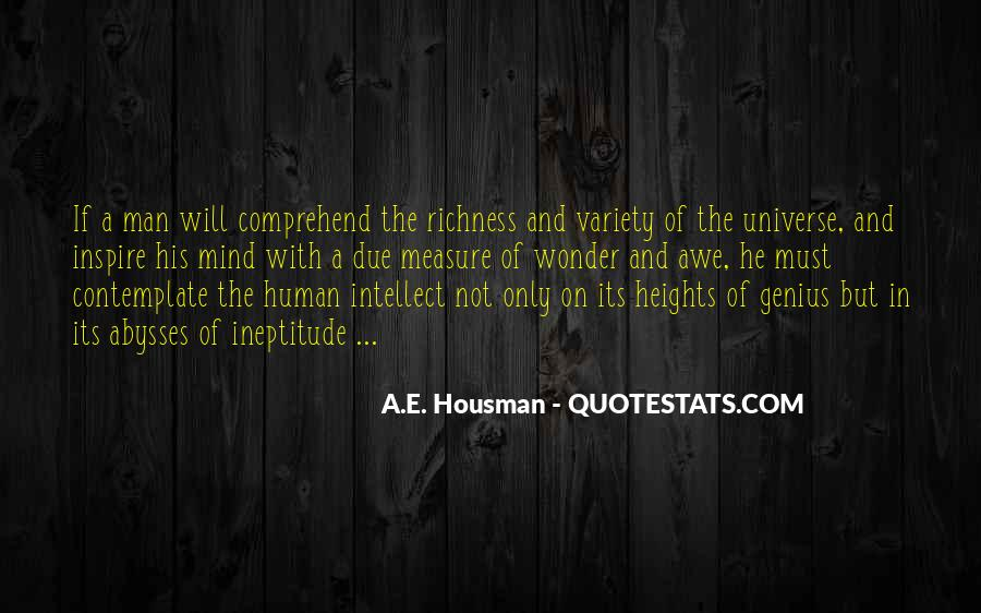 A.E. Housman Quotes #1269188