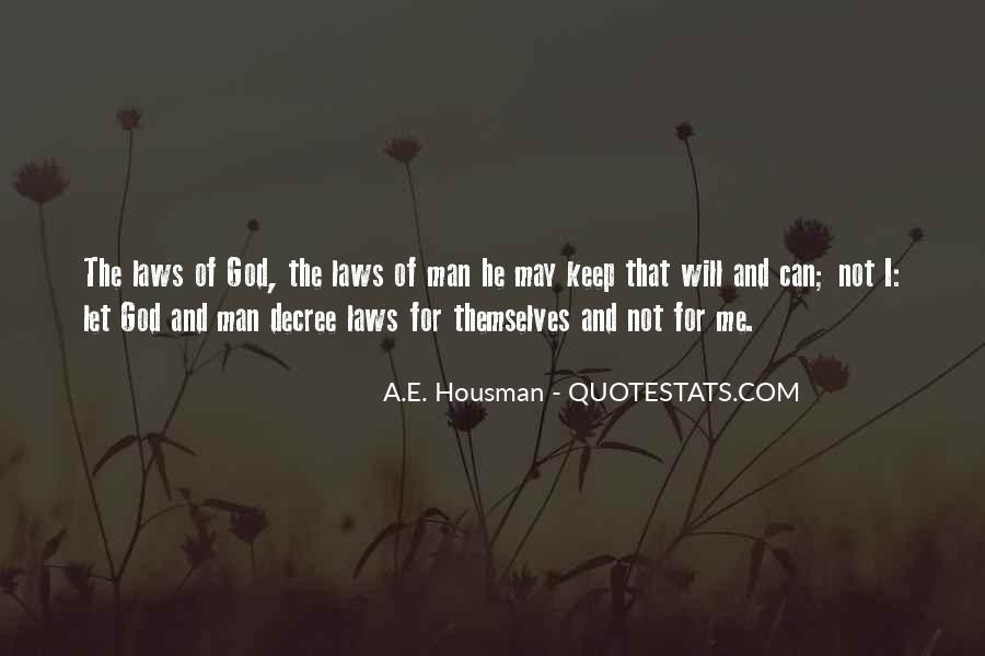 A.E. Housman Quotes #196113