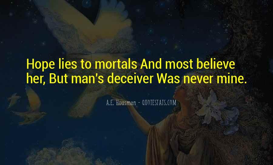 A.E. Housman Quotes #210662