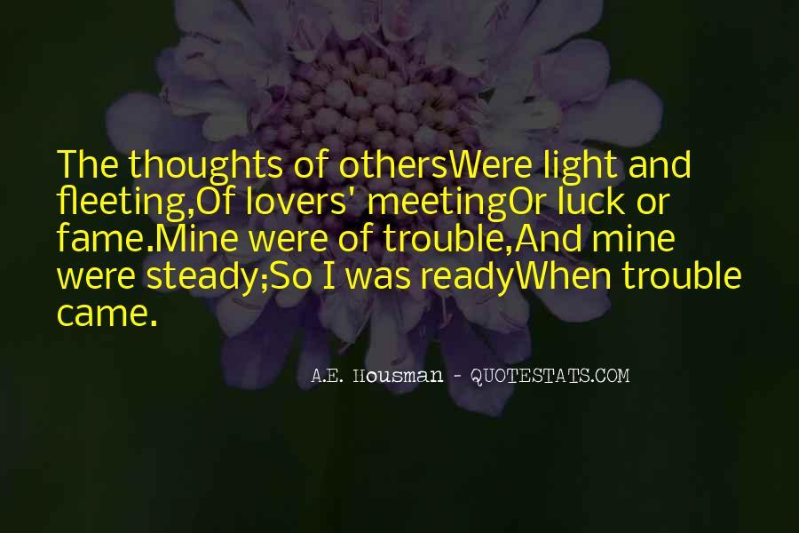 A.E. Housman Quotes #213758