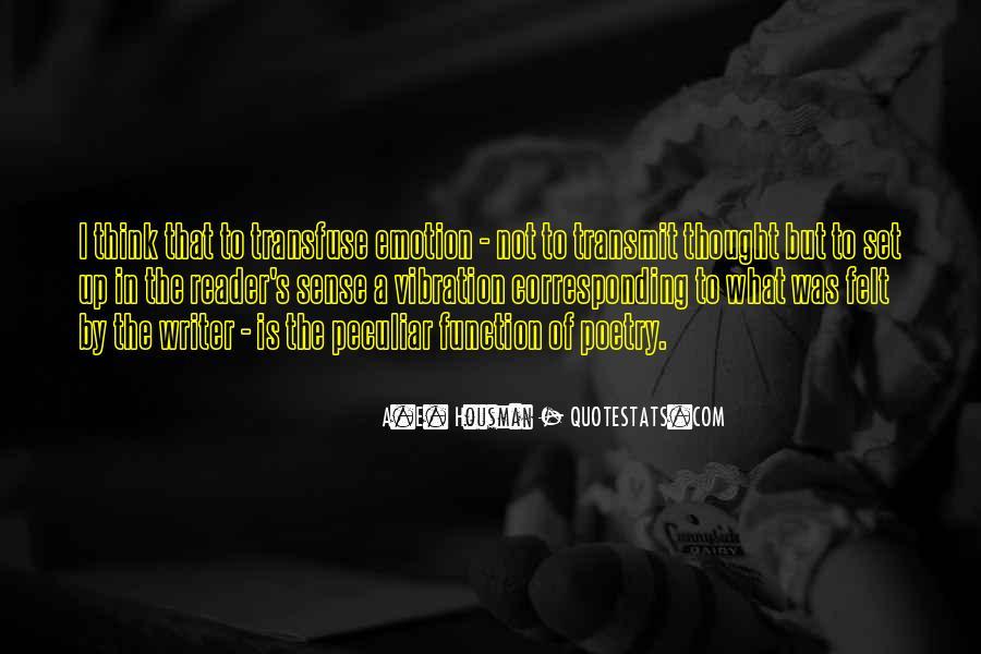 A.E. Housman Quotes #366112