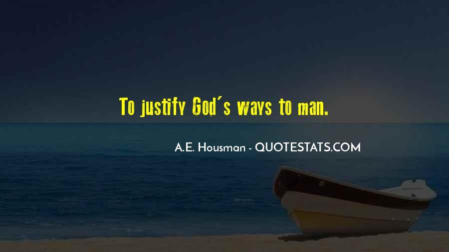 A.E. Housman Quotes #779618