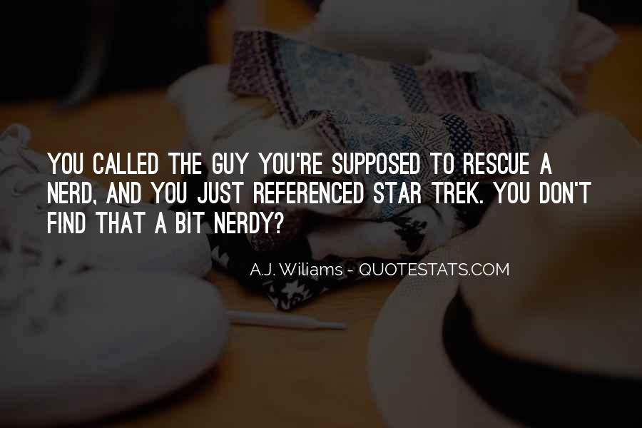 A.J. Wiliams Quotes #54200
