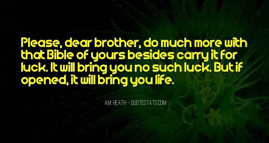 A.M. Heath Quotes #1812559