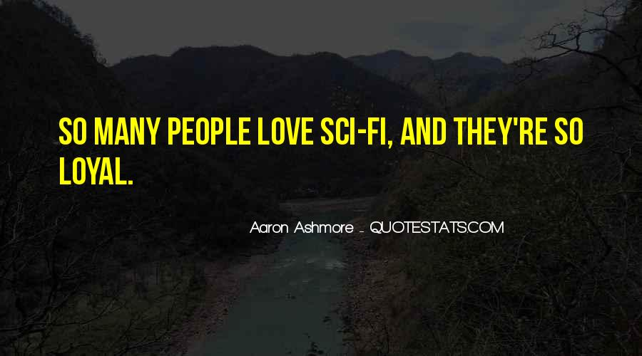 Aaron Ashmore Quotes #1817901