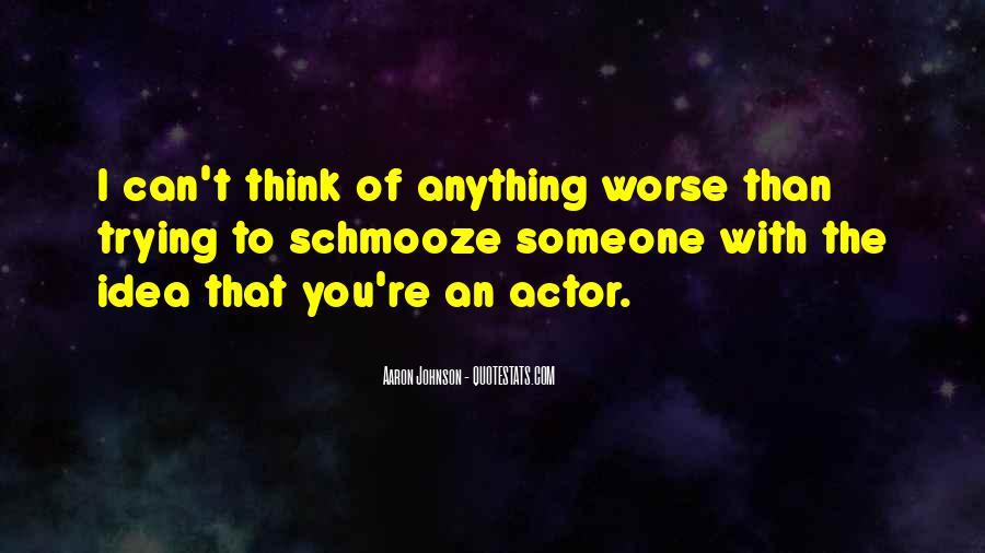 Aaron Johnson Quotes #1305054