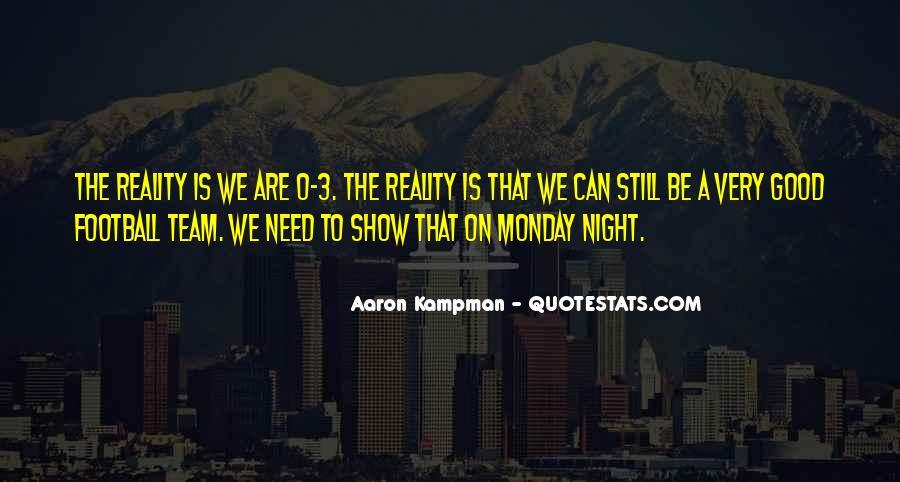 Aaron Kampman Quotes #1615809