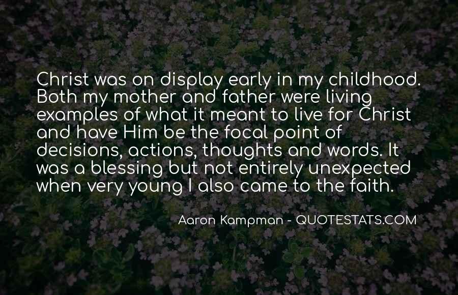 Aaron Kampman Quotes #936280