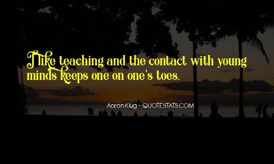 Aaron Klug Quotes #1698755