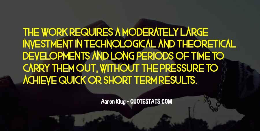 Aaron Klug Quotes #1721413