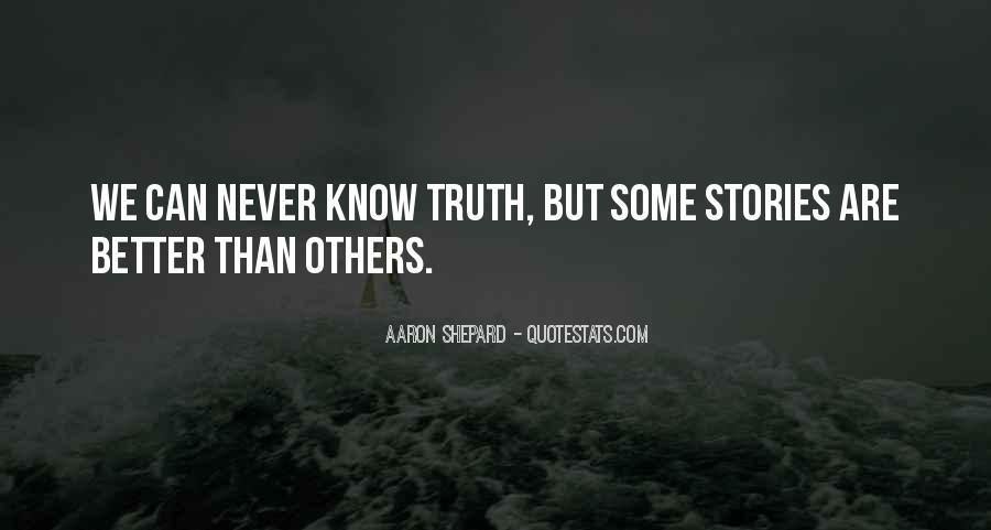 Aaron Shepard Quotes #911227