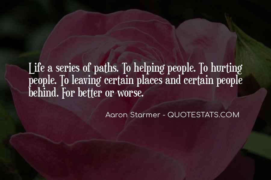 Aaron Starmer Quotes #1198857