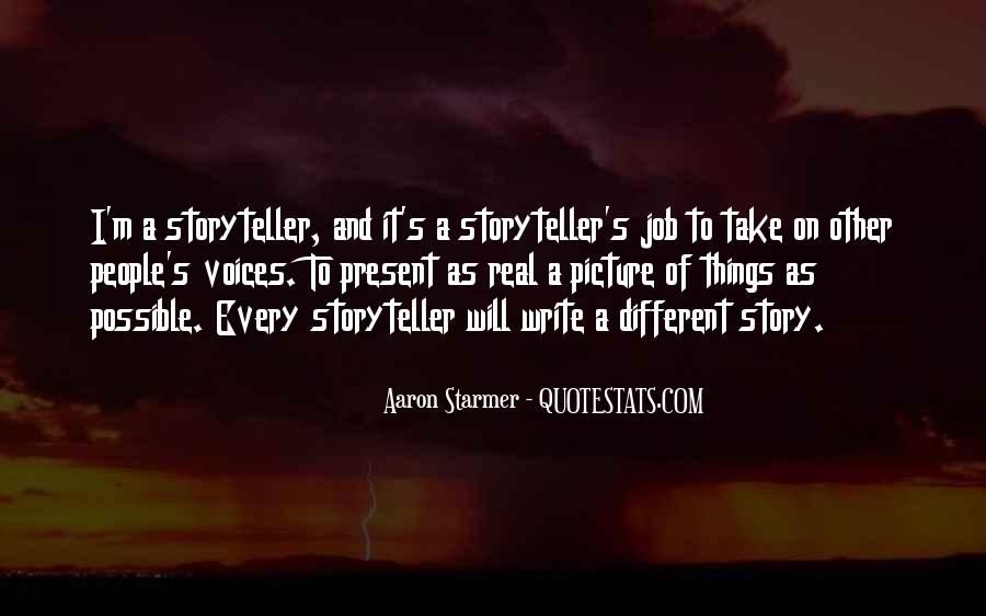 Aaron Starmer Quotes #498419
