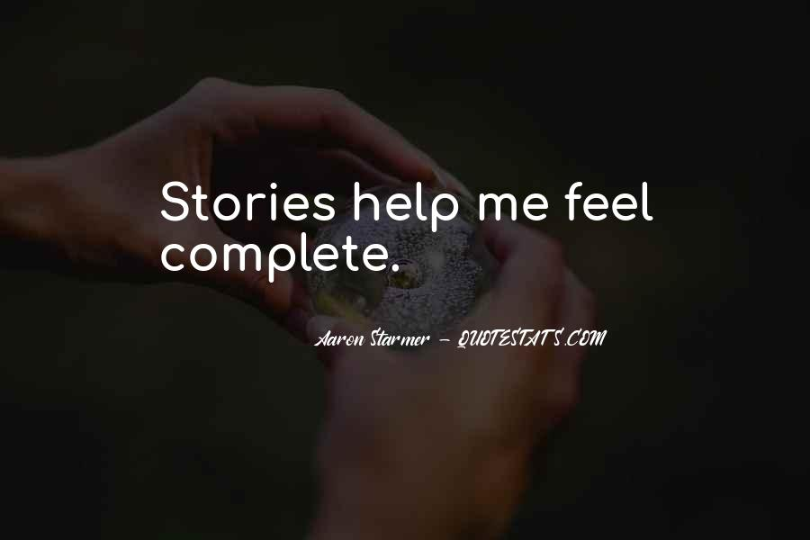 Aaron Starmer Quotes #717601