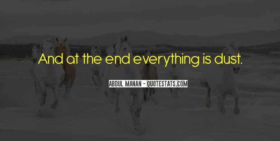 Abdul Manan Quotes #1135647
