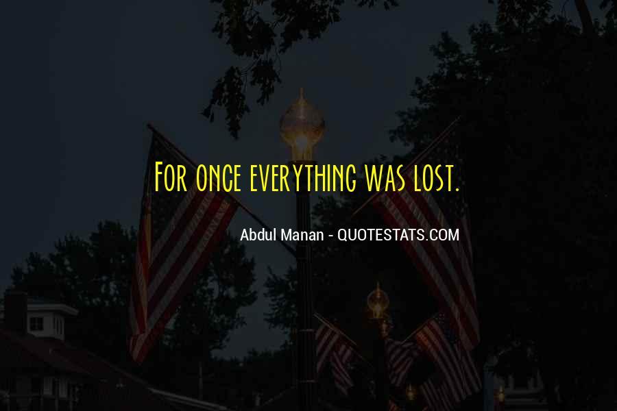 Abdul Manan Quotes #1145173