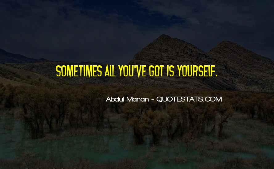 Abdul Manan Quotes #753115