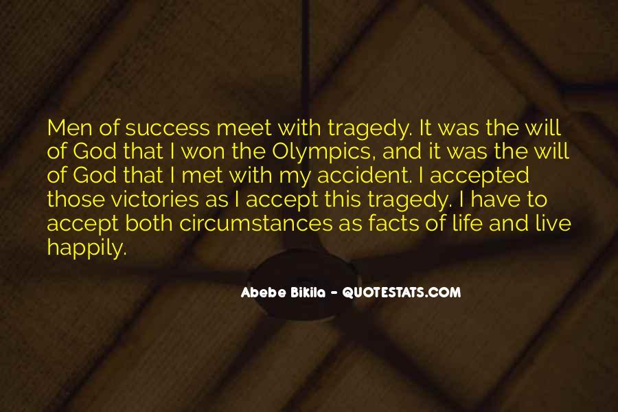 Abebe Bikila Quotes #33657