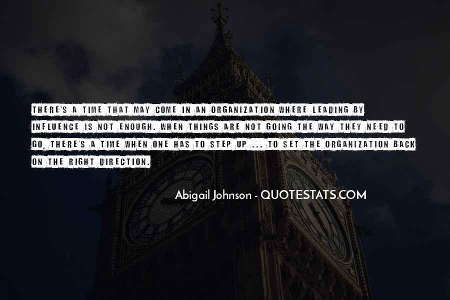 Abigail Johnson Quotes #405660