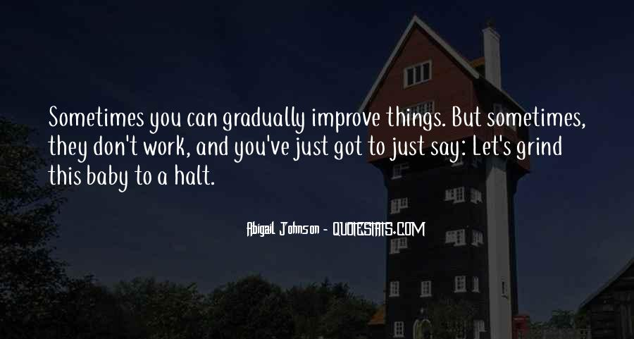Abigail Johnson Quotes #43454