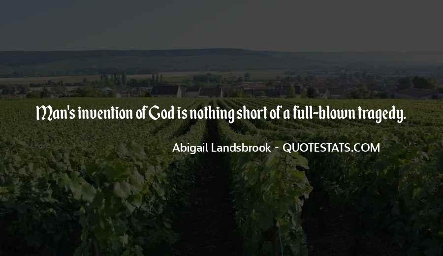 Abigail Landsbrook Quotes #1118070