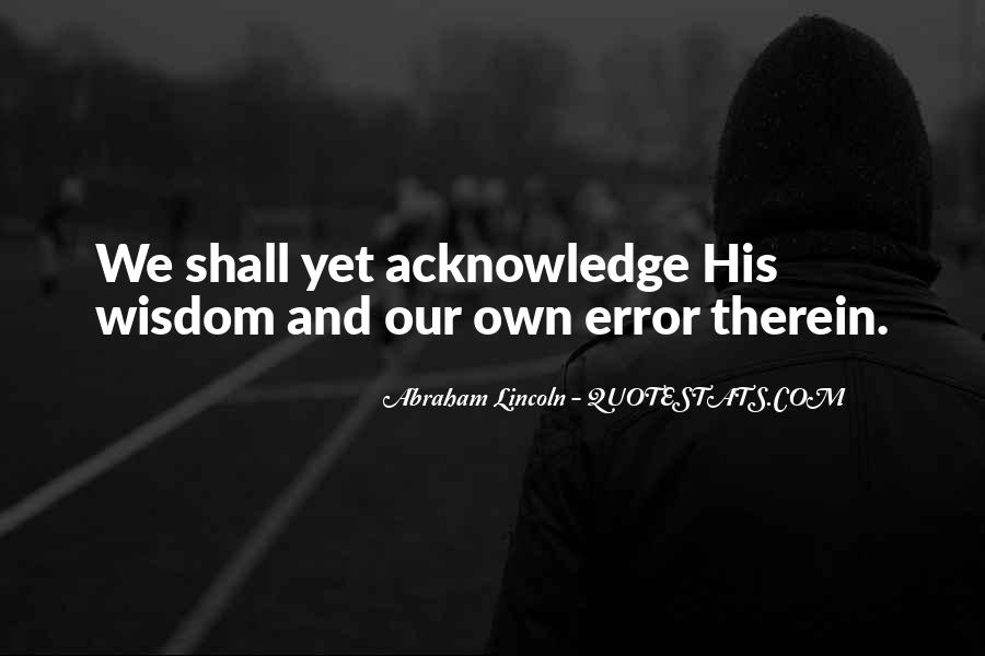 Abraham Lincoln Quotes #1057866