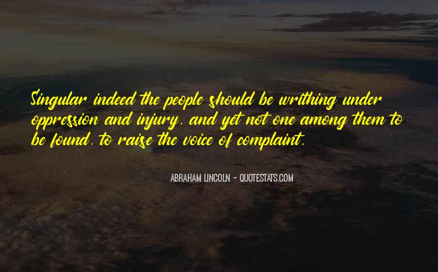 Abraham Lincoln Quotes #1062471