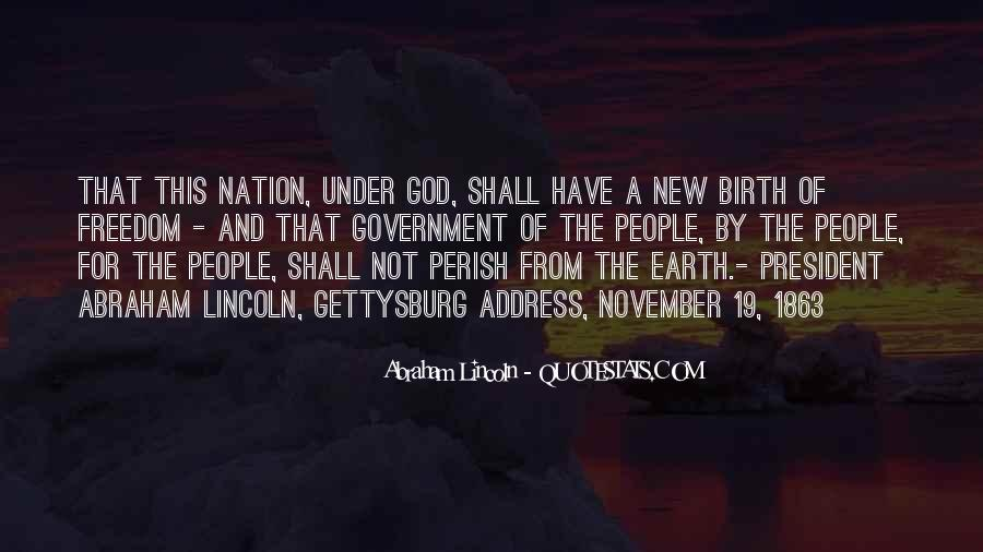 Abraham Lincoln Quotes #1272320