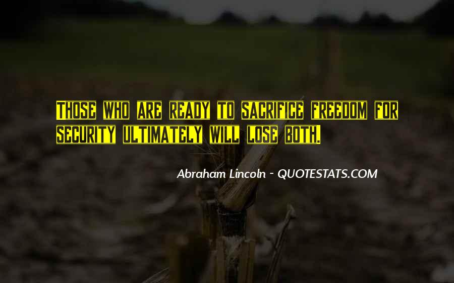 Abraham Lincoln Quotes #285429