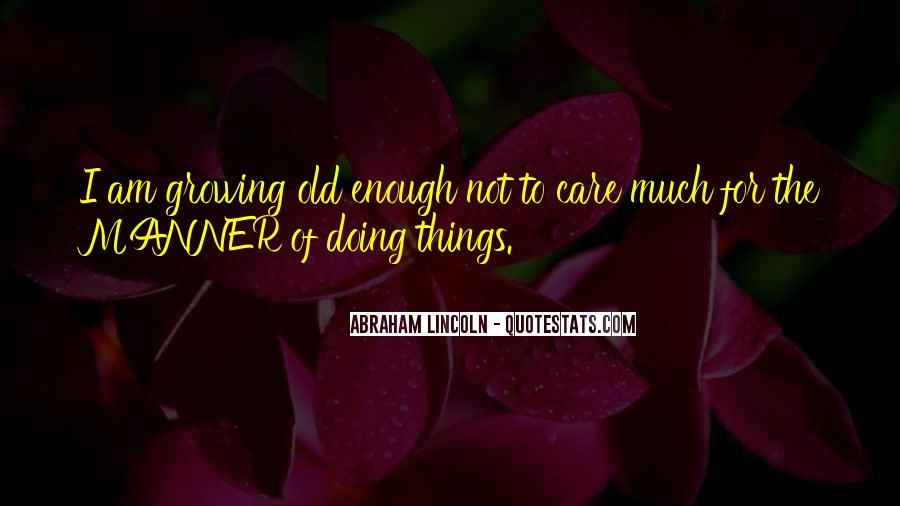 Abraham Lincoln Quotes #303261