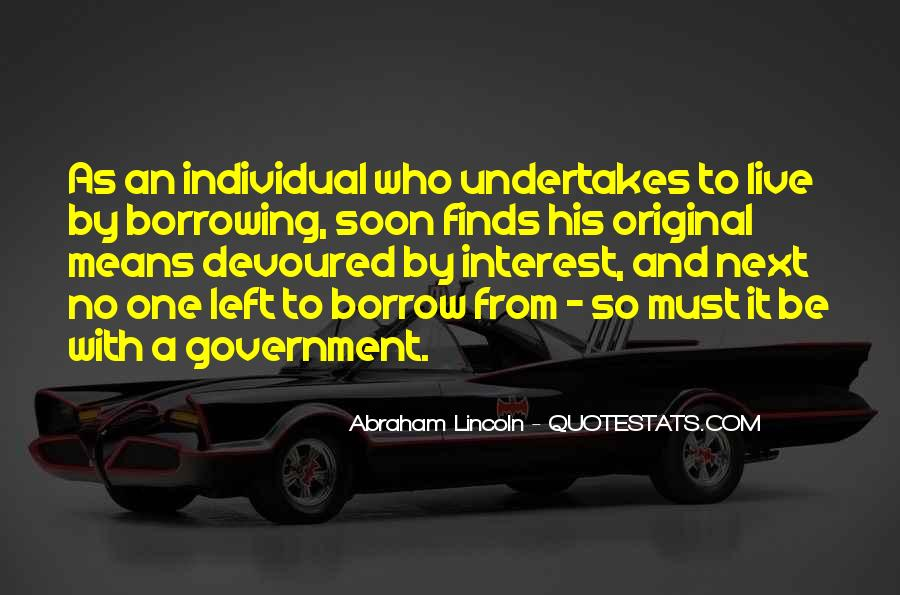 Abraham Lincoln Quotes #341447