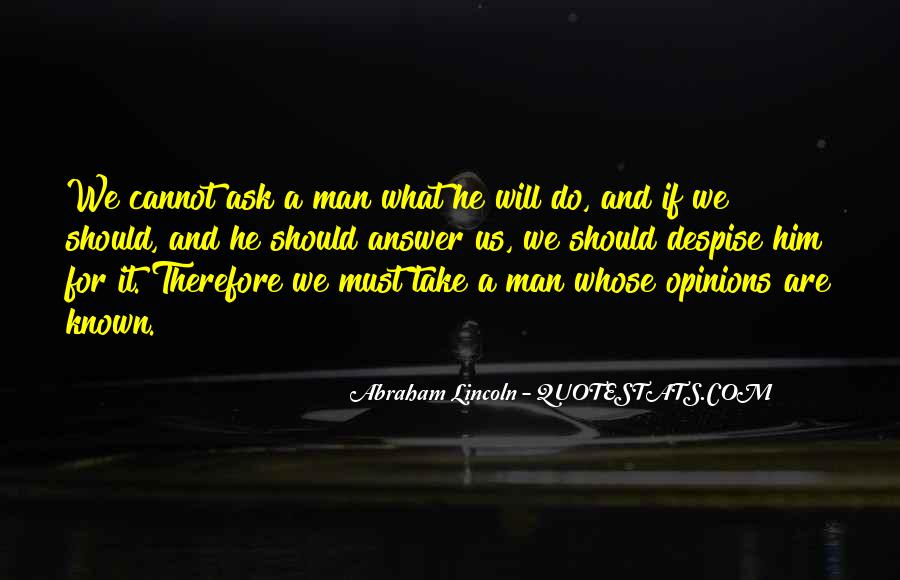 Abraham Lincoln Quotes #662127
