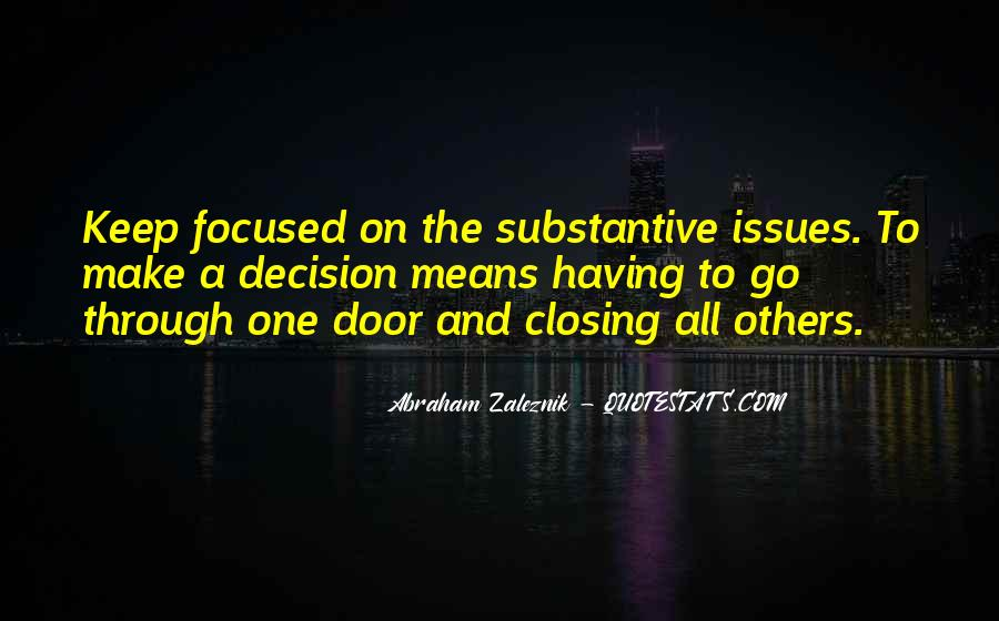 Abraham Zaleznik Quotes #1063711