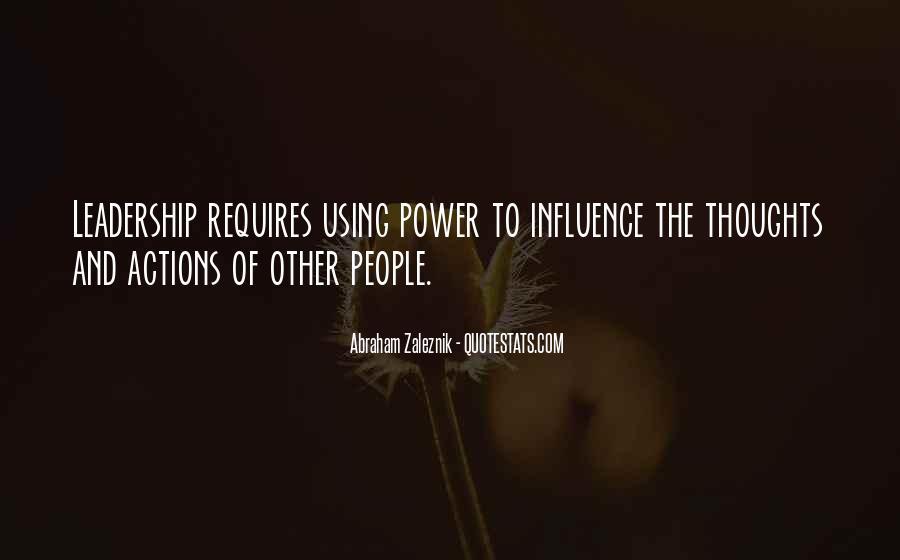 Abraham Zaleznik Quotes #1714212