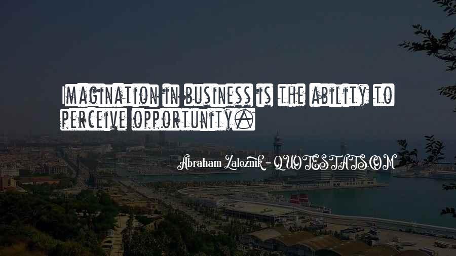 Abraham Zaleznik Quotes #1747808