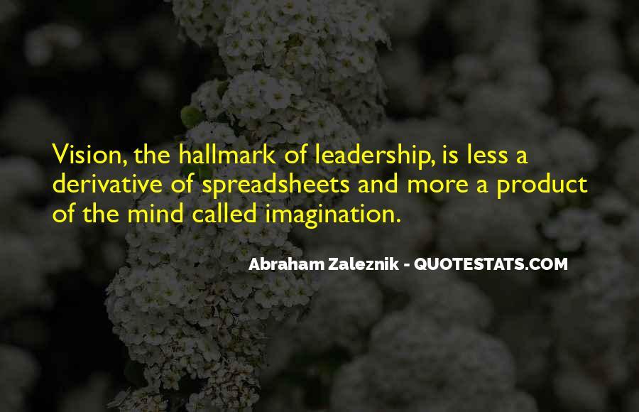 Abraham Zaleznik Quotes #728445