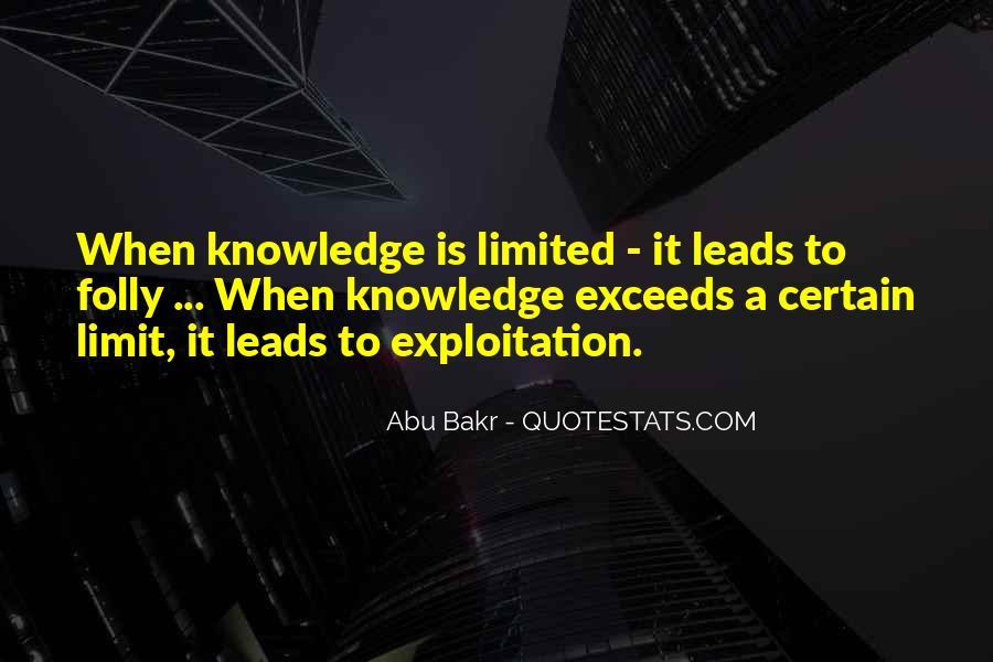 Abu Bakr Quotes #1172177
