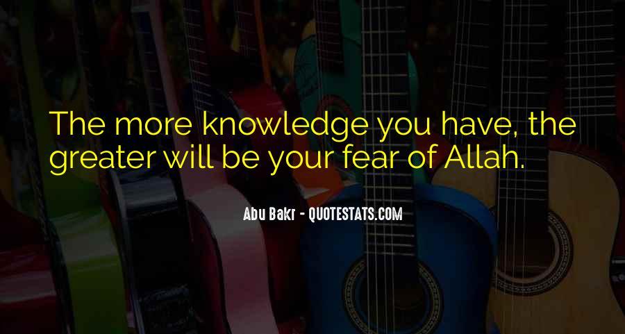 Abu Bakr Quotes #1245393