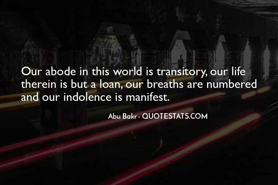 Abu Bakr Quotes #1361316