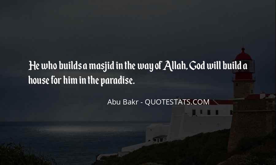 Abu Bakr Quotes #273984