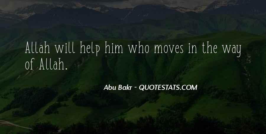 Abu Bakr Quotes #454660
